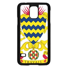 Coat of Arms of Chad Samsung Galaxy S5 Case (Black)