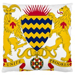 Coat of Arms of Chad Large Flano Cushion Case (Two Sides)