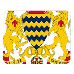 Coat of Arms of Chad Double Sided Flano Blanket (Large)