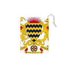 Coat of Arms of Chad Drawstring Pouches (XS)