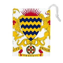 Coat of Arms of Chad Drawstring Pouches (Extra Large)