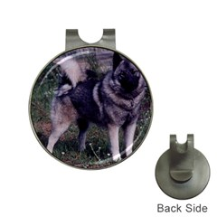 Norwegian Elkhound Full 3 Hat Clips with Golf Markers