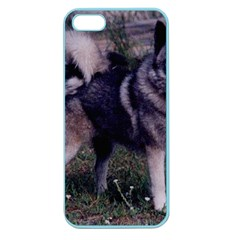 Norwegian Elkhound Full 3 Apple Seamless iPhone 5 Case (Color)