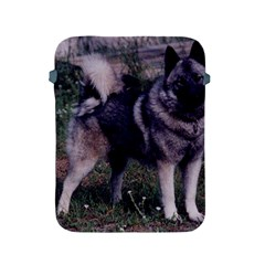 Norwegian Elkhound Full 3 Apple iPad 2/3/4 Protective Soft Cases