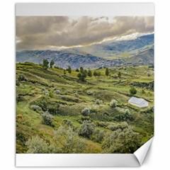 Andean Rural Scene Quilotoa, Ecuador Canvas 20  x 24