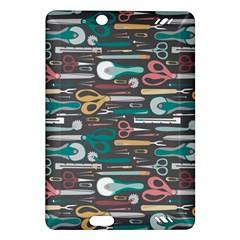 Sewing Stripes Amazon Kindle Fire HD (2013) Hardshell Case