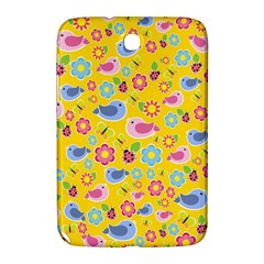 Spring pattern - yellow Samsung Galaxy Note 8.0 N5100 Hardshell Case