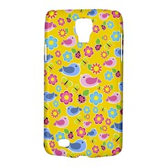 Spring pattern - yellow Galaxy S4 Active