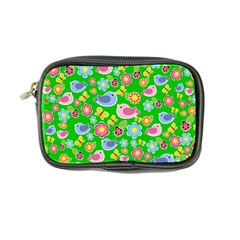 Spring pattern - green Coin Purse