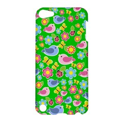 Spring pattern - green Apple iPod Touch 5 Hardshell Case