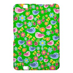 Spring pattern - green Kindle Fire HD 8.9