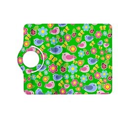 Spring pattern - green Kindle Fire HD (2013) Flip 360 Case