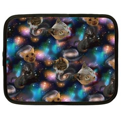 Galaxy Cats Netbook Case (Large)