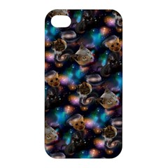 Galaxy Cats Apple iPhone 4/4S Premium Hardshell Case
