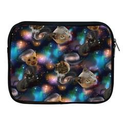 Galaxy Cats Apple iPad 2/3/4 Zipper Cases