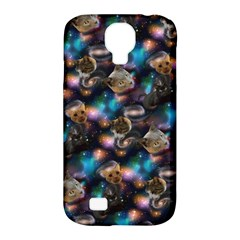 Galaxy Cats Samsung Galaxy S4 Classic Hardshell Case (PC+Silicone)