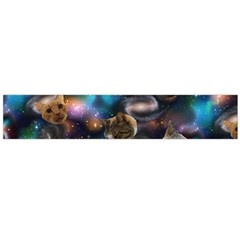 Galaxy Cats Flano Scarf (Large)
