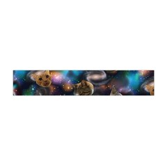Galaxy Cats Flano Scarf (Mini)