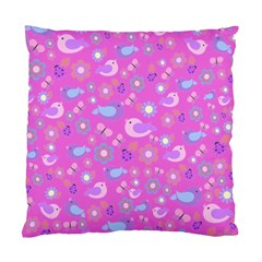 Spring pattern - pink Standard Cushion Case (Two Sides)