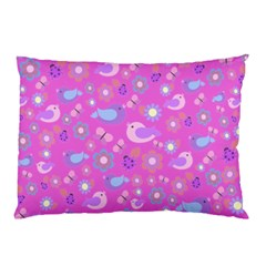 Spring pattern - pink Pillow Case (Two Sides)