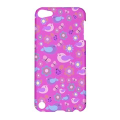 Spring pattern - pink Apple iPod Touch 5 Hardshell Case