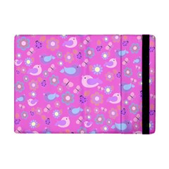 Spring pattern - pink Apple iPad Mini Flip Case