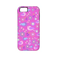 Spring pattern - pink Apple iPhone 5 Classic Hardshell Case (PC+Silicone)