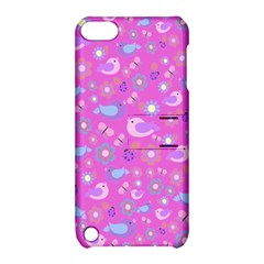 Spring pattern - pink Apple iPod Touch 5 Hardshell Case with Stand