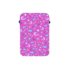 Spring pattern - pink Apple iPad Mini Protective Soft Cases