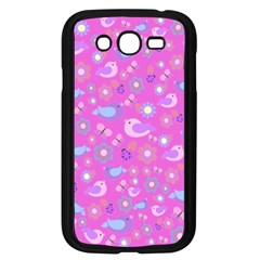 Spring pattern - pink Samsung Galaxy Grand DUOS I9082 Case (Black)