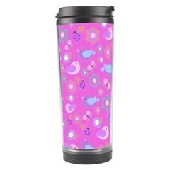 Spring pattern - pink Travel Tumbler