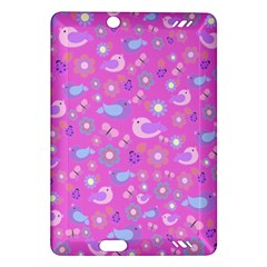 Spring pattern - pink Amazon Kindle Fire HD (2013) Hardshell Case