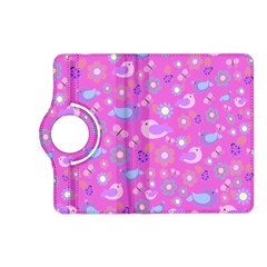 Spring pattern - pink Kindle Fire HD (2013) Flip 360 Case