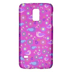 Spring pattern - pink Galaxy S5 Mini