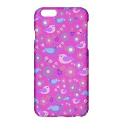 Spring pattern - pink Apple iPhone 6 Plus/6S Plus Hardshell Case