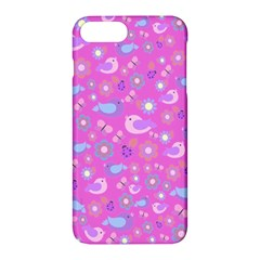 Spring pattern - pink Apple iPhone 7 Plus Hardshell Case