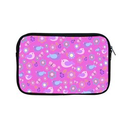 Spring pattern - pink Apple MacBook Pro 13  Zipper Case