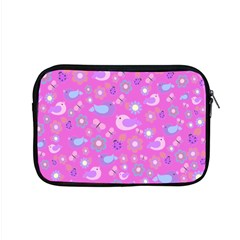 Spring pattern - pink Apple MacBook Pro 15  Zipper Case