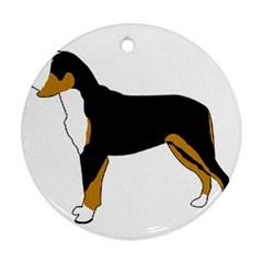Entlebucher Mt Dog Silo Color Ornament (Round)