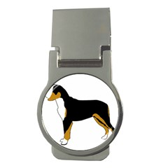 Entlebucher Mt Dog Silo Color Money Clips (Round)