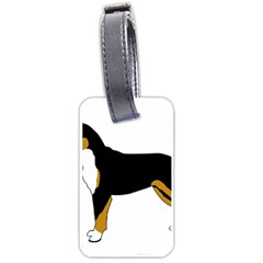 Entlebucher Mt Dog Silo Color Luggage Tags (One Side)