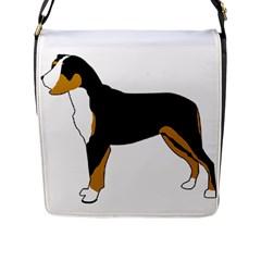 Entlebucher Mt Dog Silo Color Flap Messenger Bag (L)