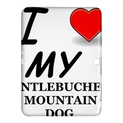 Entlebucher Mountain Dog Love Samsung Galaxy Tab 4 (10.1 ) Hardshell Case