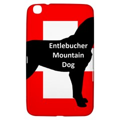 Entlebucher Mt Dog Name Silo On Switzerland Flag Samsung Galaxy Tab 3 (8 ) T3100 Hardshell Case