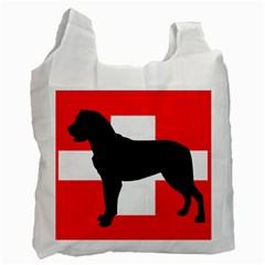 Entlebucher Mt Dog Silo Switzerland Flag Recycle Bag (Two Side)