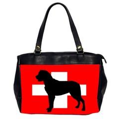Entlebucher Mt Dog Silo Switzerland Flag Office Handbags (2 Sides)