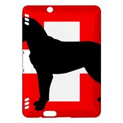 Entlebucher Mt Dog Silo Switzerland Flag Kindle Fire HDX Hardshell Case