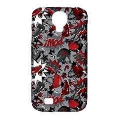 Roller Derby Slam Samsung Galaxy S4 Classic Hardshell Case (PC+Silicone)