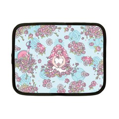 Space Roses Netbook Case (Small)
