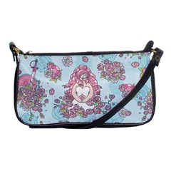 Space Roses Shoulder Clutch Bags